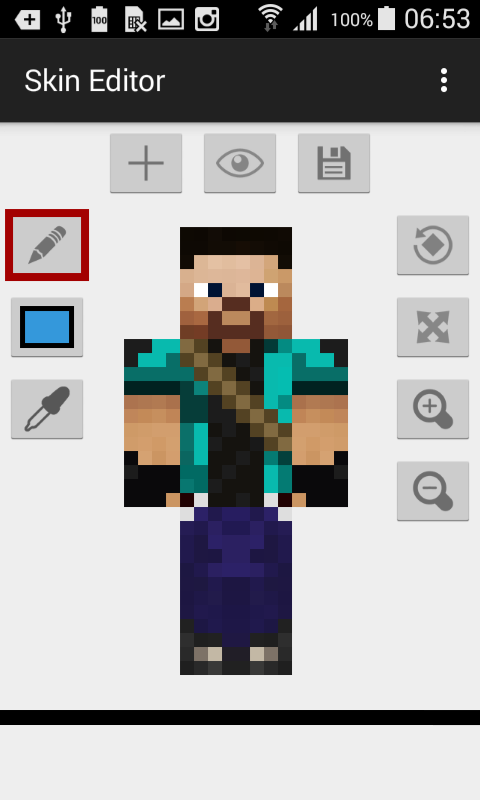 Amazon.com: Skin Editor for Minecraft: Appstore for Android