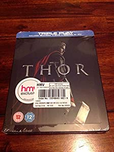 Thor: Hmv Exclusive: Steelbook: Triple Play