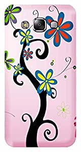 TrilMil Printed Designer Mobile Case Back Cover For SAMSUNG GALAXY E5