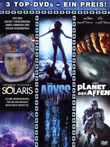 Solaris / The Abyss / Planet der Affen [3 DVDs]