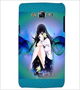 PrintDhaba Fantasy Girl D-5666 Back Case Cover for SAMSUNG GALAXY J5 (Multi-Coloured)