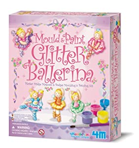 Mould & Paint Glitter Ballerina
