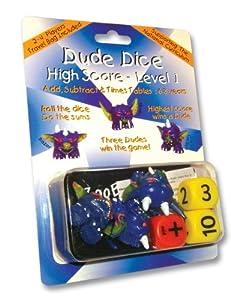 Dude Dice High Score - Level 1 (6-8 years)
