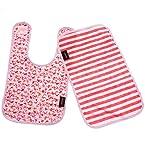 Flamingo Burp Cloth Set