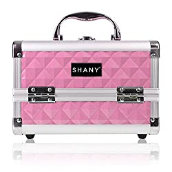 SHANY Cosmetics Mini Makeup Train Case In Pink