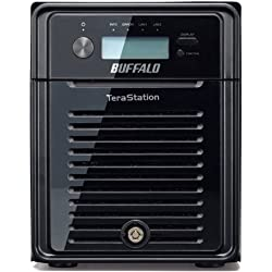 Buffalo TS3400D0804 4-Bay 8TB RAID 0 Desktop Network Attached Storage for Windows/Mac with Marvell