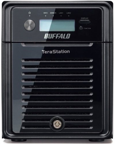 Buffalo TS3400D1204 4-Bay 12TB Desktop Network Attached Storage for Windows/Mac with Marvell