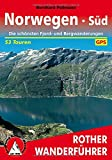 Norwegen S�d: Die sch�nsten Fjord- und Bergwanderungen. 53 Touren. Mit GPS-Tracks. (Rother Wanderf�hrer) - Bernhard Pollmann