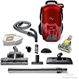 GV 8 Qt Quart Light Powerful HEPA BackPack Vacuum blower Loaded w 2 year warranty