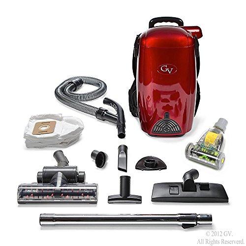 GV 8 Qt Quart Light Powerful HEPA BackPack Vacuum blower Loaded w 2 year warranty