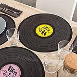 Tischset Platte Vinyl Schallplatte