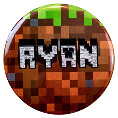 Ryan Name Tag - Inspired By Minecraft from Henry the Buttonsmith