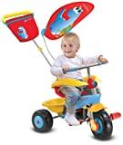 Smart Trike Candy 601-3333 Tricycle 3-in-1 Blue / Yellow / Red