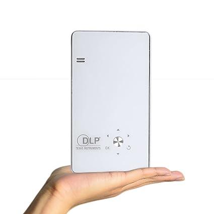 GIZGA® Mini Vidéoprojecteur120 Lumens Projecteur avec Technologie d'Affichage DLP 850*480p Supporte 1080P