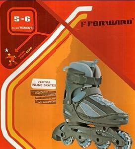 Amazon.com : F Forward Vectra Inline Skates Size 5 to 6 : Childrens