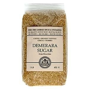 Amazon.com : India Tree Demerara Sugar, 1 lb : Demerara ...