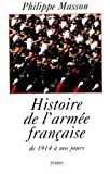img - for Histoire de l'Armee francaise (French Edition) book / textbook / text book