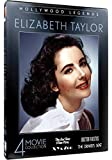 Hollywwod Legends: Elizabeth Taylor - 4 Movie Collection - The Last Time I Saw Paris - Doctor Faustus - X, Y & Zee - The Driver's Seat