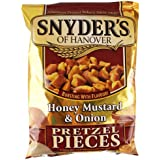 Snyder's Honey, Mustard and Onion Pretzel Pieces 125g - 10 pack