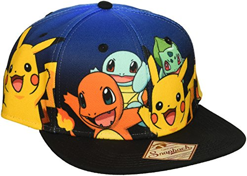 Pokemon The Starters Snapback Baseball Cap