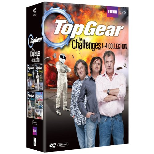 Top Gear - The Challenges 1-4 Collection [DVD] [NON-USA Format- UK Import Region 2] (Top Gear Challenges compare prices)