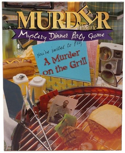 Murder Mystery Party - A Murder on the Grill game