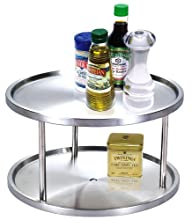 Cook N Home 10-1 2-Inch 2 Tier Lazy Susan