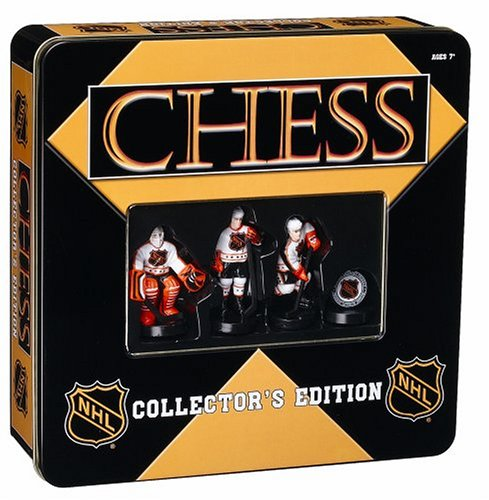 NHL Chess in a Tin - Buy NHL Chess in a Tin - Purchase NHL Chess in a Tin (USAopoly, Toys & Games,Categories,Games,Board Games,Checkers Chess & Backgammon)