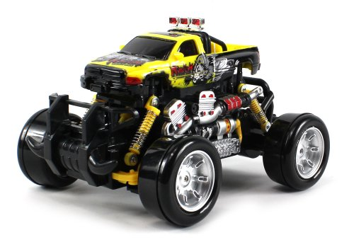 Graffiti Dodge Ram Electric Rc Drift Truck 1:18 Scale 4 Wheel Drive Ready To Run Rtr, Working Spring Suspension, Perform Various Drifts (Colors May Vary)