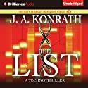 The List (       UNABRIDGED) by J. A. Konrath Narrated by Benjamin L. Darcie