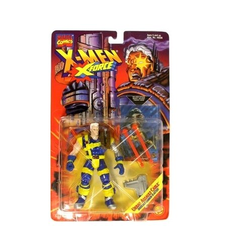 X-Men: X-Force Urban Assualt Cable Action Figure - 1