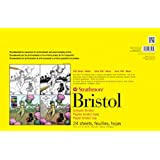 Strathmore STR-342-117 24 Sheet Vellum Bristol Pad, 11 by 17