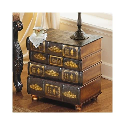 Amazon.com - Hemingway's Library Book Side Table - End Tables