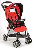Kolcraft-Cloud-Plus-Lightweight-Stroller-Fire-Red