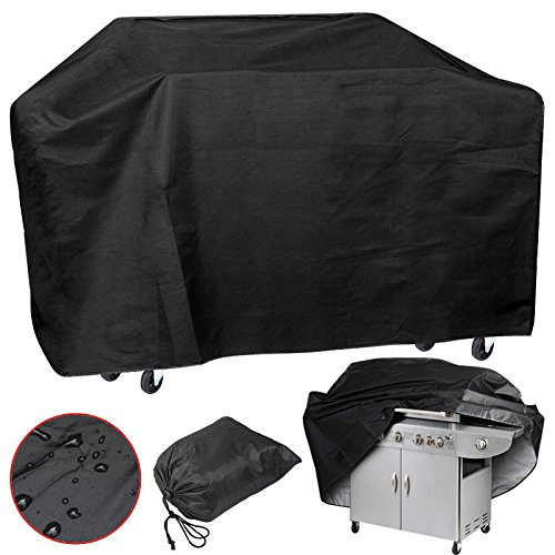 Xxl Large 75'' Wide Waterproof Bbq Polyester Cover Gas Barbecue Grill Protection Pq7ab Black Easy Carry And Storage Brand New (Pedestal Grill Cover compare prices)