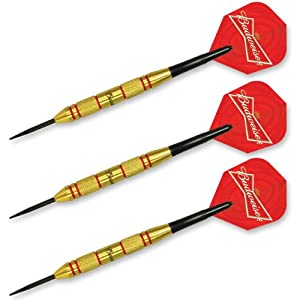 Buy Budweiser Steel Tip Dart Set, 22gm by Budweiser