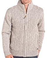 BLZ jeans - Gilet tendance et chiné blanc gris