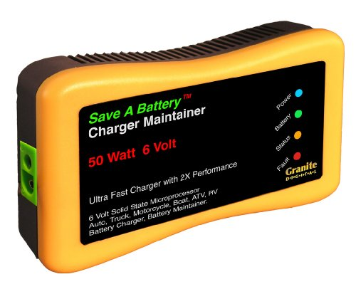 Save A Battery 2365-6 6-Volt Battery Charger and Maintainer