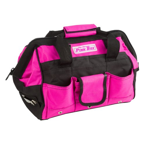 The Original Pink Box PB12TB 12-Inch Tool Bag, Pink (Tool Box For Car compare prices)