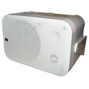 Buy Poly-Planar B0X 200W White Waterproof Full Size Box Speakers Pair by Poly-Planar