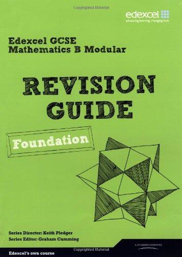 Revise Edexcel GCSE Mathematics Spec B Found Revision Guide (Revise Edexcel Maths)