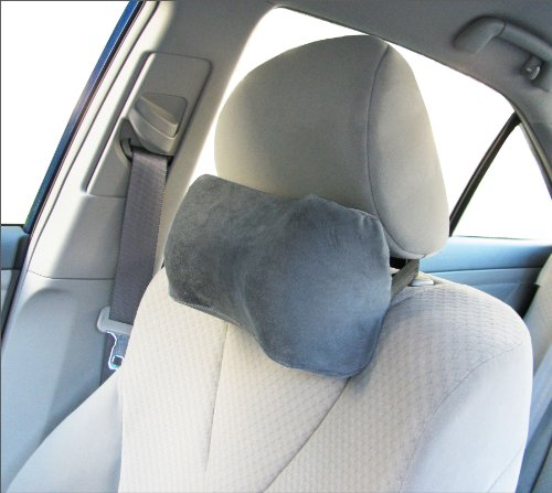 Car Neck Pillow (Soft Version)- Neck Pillow; Car Pillow; Memory Foam Neck Pillow; Neck Rest Pillow; Car Neck Pillow (Color: Grey) (Neck Pillow For Car compare prices)