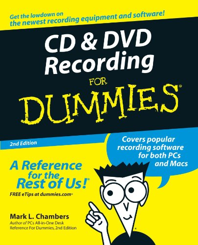 CD and DVD Recording For Dummies Electronics Computers ...