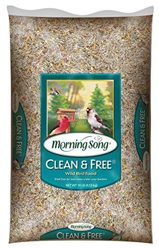 Morning Song 11959 Clean and Free Wild Bird Food, 10-Pound (Morning Song Sunflower Seeds compare prices)