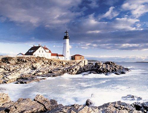 "Springbok ""Portland Head Lighthouse"" 1000 Piece Jigsaw Puzzle"