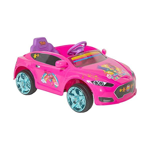 d976231e0a6 Trolls 6V Speed Electric Battery-Powered Coupe Ride-On - Epic Kids ...