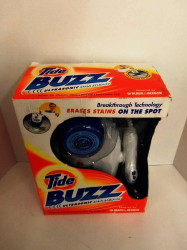 Tide Buzz Ultrasonic Stain Remover System Case Pack 2 Tide Buzz Ultrasonic Stain Remover System Cas