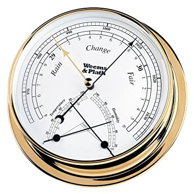 Weems & Plath Endurance Collection 145 Barometer and Comfortmeter Combination (Brass) from Conant Custom Brass