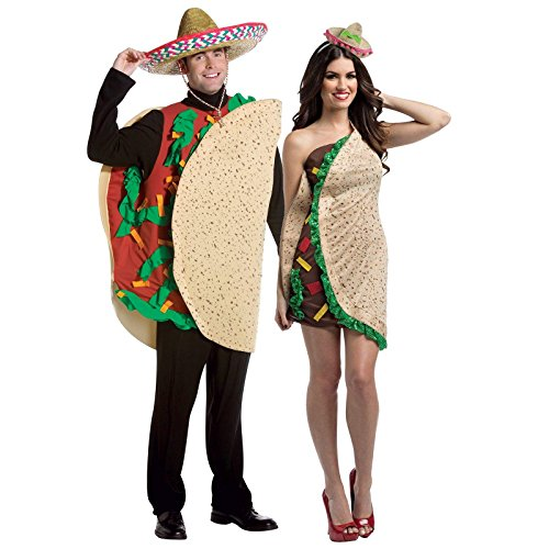 Taco Couples Costume For Adults