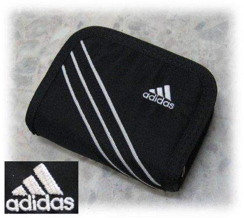 adidas アディダス ファスナー財布 783 ブラック